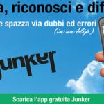"""Partecipo al concorso """"Storie di economia circolare"""" con un servizio audio su Junker, l'app per gestire la differenziata. E' attivo il voto online"""