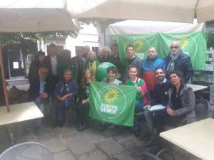 Europa Verde ha presentato candidate e candidati a Mestre