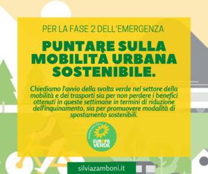 Per la ripartenza servono risorse per promuovere la mobilità urbana sostenibile