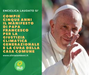 24 Maggio 2015: Papa Francesco Pubblica L'Enciclica Laudato Si'