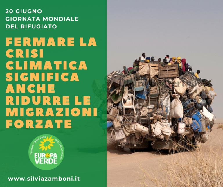GIORNATA MONDIALE DEL RIFUGIATO E LA CRISI CLIMATICA