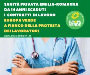 EUROPA VERDE A FIANCO DELLA PROTESTA DEI LAVORATORI DELLA SANITÀ PRIVATA
