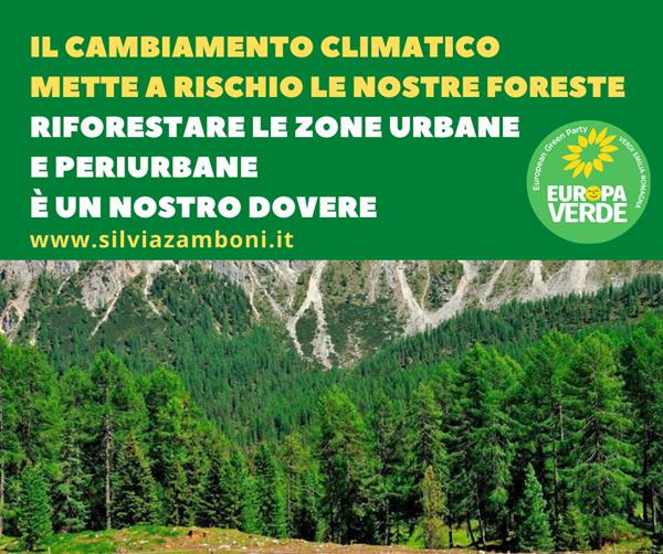 IL CAMBIAMENTO CLIMATICO METTE A RISCHIO LE NOSTRE FORESTE