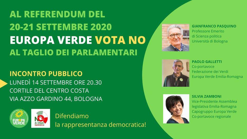 20-21 SETTEMBRE AL REFERENDUM COSTITUZIONALE VOTERÒ NO