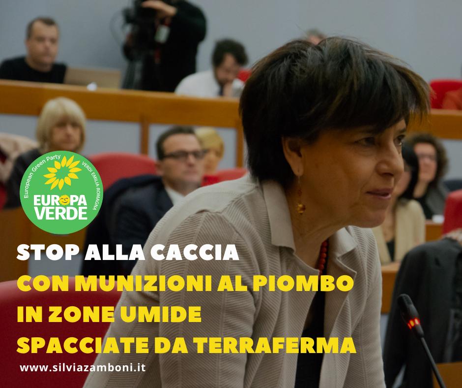 STOP ALL'IMPIEGO DI PROIETTILI AL PIOMBO NELLE AREE DI CACCIA IN ZONE UMIDE