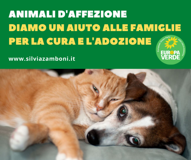 APPROVATO MIO ODG PER MISURE A FAVORE DI MANTENIMENTO E CURA DI ANIMALI D'AFFEZIONE