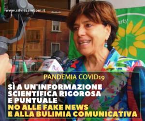 PER COMBATTERE MEGLIO LA PANDEMIA SERVE UNA COMUNICAZIONE CHIARA ED EFFICACE PER INFORMARE CORRETTAMENTE I CITTADINI