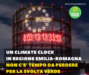 CLIMATE CLOCK IN REGIONE EMILIA-ROMAGNA