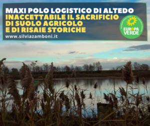 NO AL MAXIPOLO LOGISTICO DI ALTEDO (BOLOGNA)