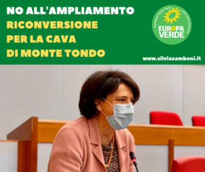NO ALL'AMPLIAMENTO DELLA CAVA DI MONTE TONDO