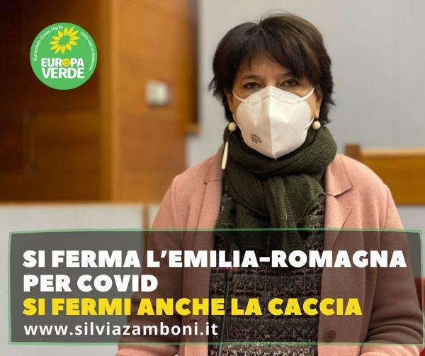 SI FERMA L'EMILIA-ROMAGNA PER COVID. SI FERMI ANCHE LA CACCIA