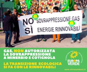 NO STOCCAGGIO GAS IN SOVRAPRESSIONE