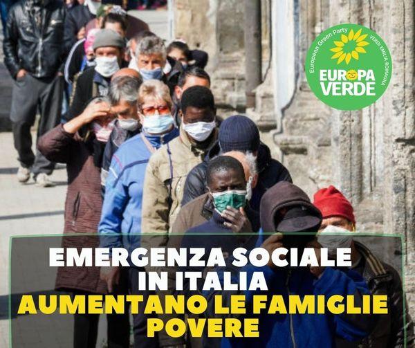 EMERGENZA SOCIALE IN ITALIA. AUMENTANO LE FAMIGLIE POVERE