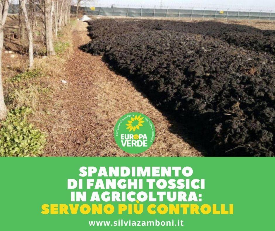 SPANDIMENTO DI FANGHI TOSSICI IN AGRICOLTURA: SERVONO PIÙ CONTROLLI