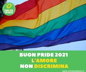 L'amore non discrimina. Buon Pride 2021