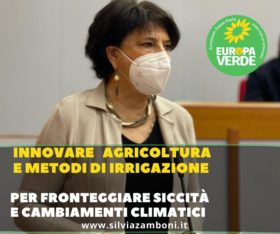 Innovare agricoltura e metodi di irrigazione per fronteggiare i cambiamenti climatici