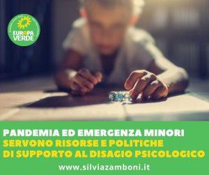 PANDEMIA ED EMERGENZA MINORI