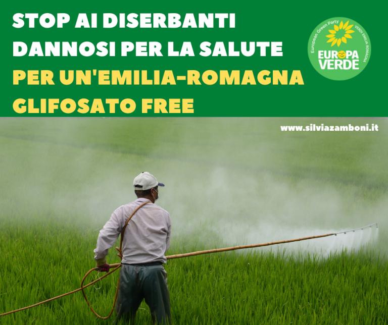 Per un'Emilia-Romagna glifosato free
