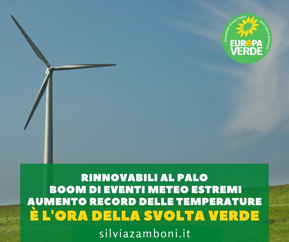 Transizione ecologica troppo lenta in Italia