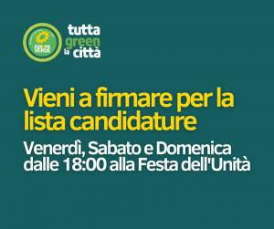 Comunali di Bologna: i candidati di Europa Verde in testa di lista