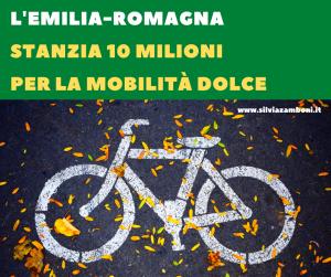 Dieci milioni dall'Emilia-Romagna per la ciclomobilità