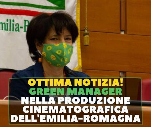 GREEN MANAGER NELLA PRODUZIONE CINEMATOGRAFICA DELL'EMILIA-ROMAGNA