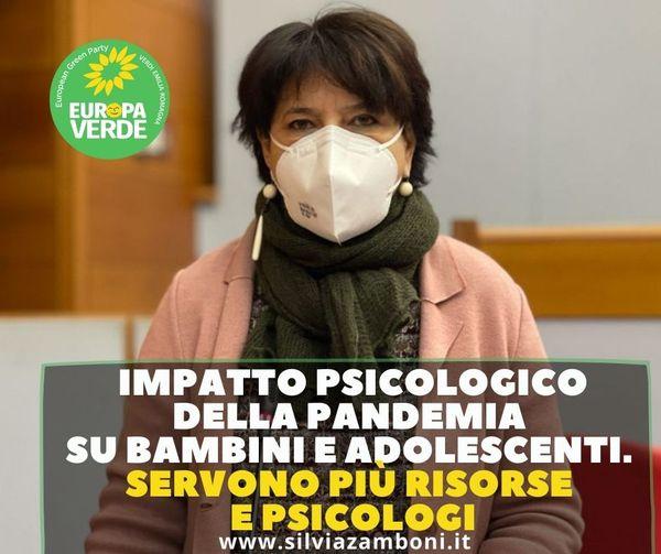 GIOVANI E DISAGIO DA PANDEMIA COVID 19. LA REGIONE INTERVENGA CON MISURE ADEGUATE