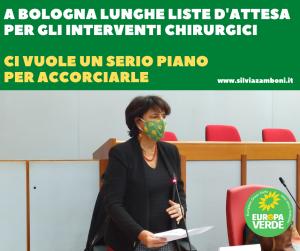 A Bologna liste d'attesa troppo lunghe per gli interventi chirurgici. Serve un piano serio per accorciarle